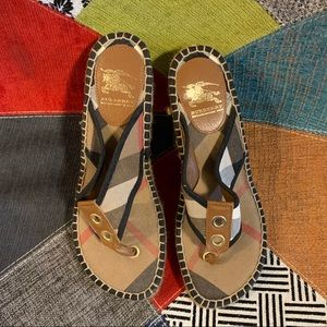 Burberry Authentic Wedges